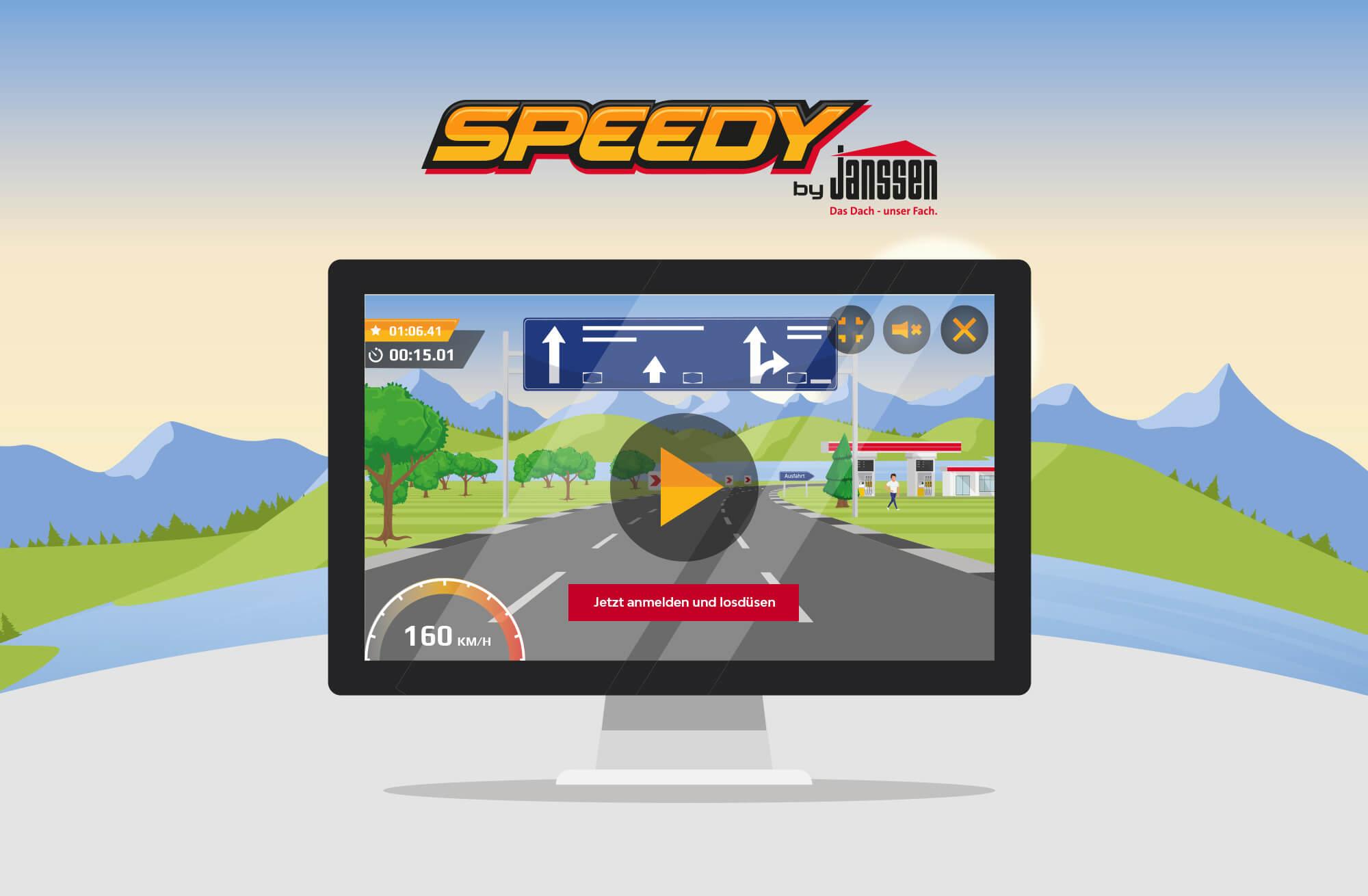 Speedy Rennspiel